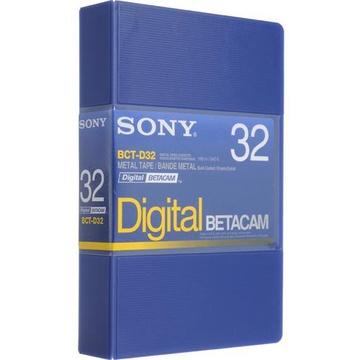 Sony BCT-D32 Digital Betacam Video Cassette (32 Minute)