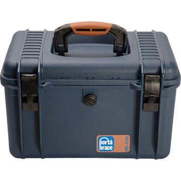 Porta Brace PB-4100DK Hard Case with Divider Kit Interior (Blue)