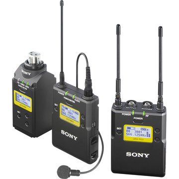sony uwp d16 dual combo eng wireless microphone kit nz. Black Bedroom Furniture Sets. Home Design Ideas