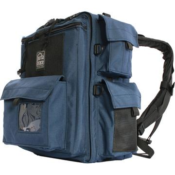 Porta Brace BK-1NQS-M3 Backpack (Blue) with Quick Slick rain cover