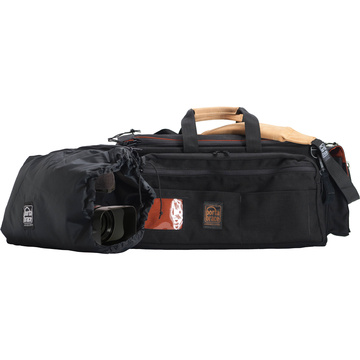 Porta Brace Cargo Case with Backpack Camera Pouch (Black)