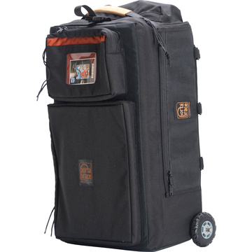 Porta Brace WPC-1ORB Wheeled Production Case (Small, Midnight Black)