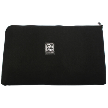 Porta Brace PB-B1221 Zippered Padded Pouch (Black)