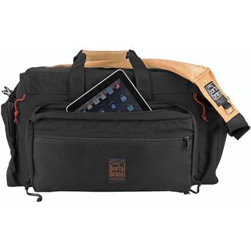 Porta Brace DCO-2R Digital Camera Organizer Case (Black with Copper Trim)