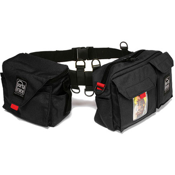 Porta Brace BP-3 Waist Belt Production Pack - for Camcorder Batteries, Tapes and Accessories (Black)