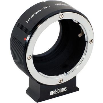 Metabones Olympus OM Mount Lens to Micro Four Thirds Lens Mount Adapter (Black)