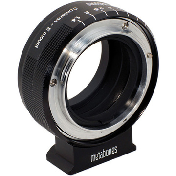 Metabones Contarex Mount Lens to Sony NEX Camera Lens Mount Adapter (Black)