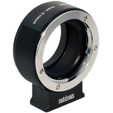 Metabones Rollei QBM Mount Lens to Sony NEX Camera Lens Mount Adapter (Black)