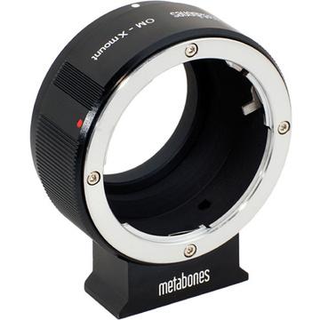 Metabones Olympus OM Mount Lens to Fujifilm X-Mount Camera Lens Mount Adapter (Black Matte)