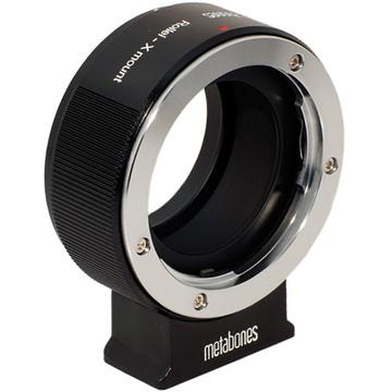 Metabones Rollie QBM Mount Lens to Fujifilm X-Mount Camera Lens Mount Adapter (Black Matte)
