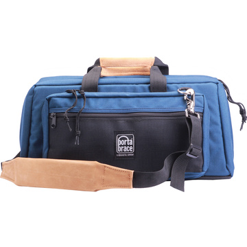 Porta Brace Mini-DV Camera Case with QS-M3 Mini Quick Slick (Blue)