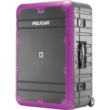 Pelican BA27 Elite Weekender Luggage (Grey and Purple)