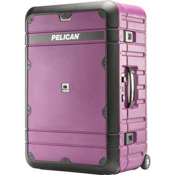 Pelican BA27 Elite Weekender Luggage (Plum and Black)