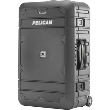 Pelican EL22 Elite Carry-On Luggage with Enhanced Travel System (Grey and Black)