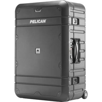 Pelican EL27 Elite Weekender Luggage with Enhanced Travel System (Grey and Black)