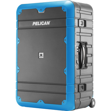 Pelican EL27 Elite Weekender Luggage with Enhanced Travel System (Grey and Blue)