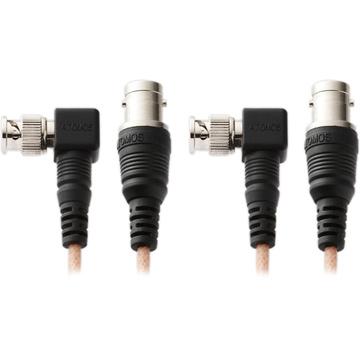 """Atomos 9"""" & 27.5"""" Right Angle SDI Cables for Samurai Recorder"""