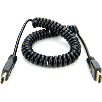 Atomos Full HDMI Coiled Cable (50-65 cm)