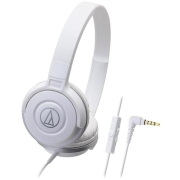 Audio Technica ATH-S100iS Headphones (White)