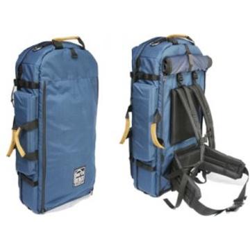 Porta Brace HK-1/DC Director's Cut Hiker Backpack Camera Case (Black w/ Suede Accents)