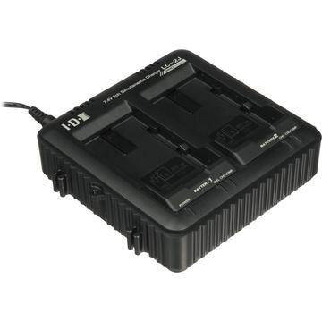 IDX 2-Channel Simultaneous Charger for SSL-JVC50 JVC Batteries