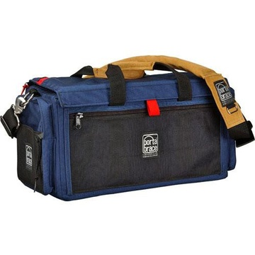 Porta Brace DV Organizer Case with QS-M3 Mini Rain Slick (Signature Blue)