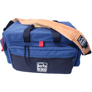 Porta Brace DVO2U-QS-M3 DV Case with QS-M3 Quick Slick Mini Rain Cover (Signature Blue)