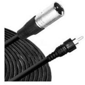 Comprehensive EXF Series 3-Pin XLR Male to RCA Male Cable - 6'