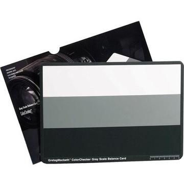X-Rite ColorChecker Gray Scale Card