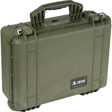 Pelican 1520 Case without Foam (Olive Drab Green)