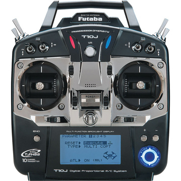 Futaba 10JH 2 4GHz 10-Channel S/FHSS Radio System with the R3008SB Receiver