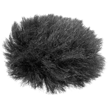 Auray Fuzzy Windbuster for Lavalier Microphones (Black)
