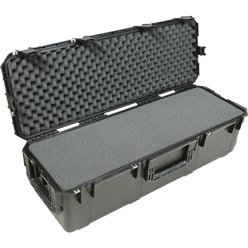 SKB 3I-4213-12BL Injection Molded Waterproof Case with Wheels and Layered Foam