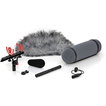DPA Microphones 4017B-R Professional Shotgun Microphone with Rycote Windshield