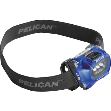 Pelican 2740 LED Headlight (Blue)