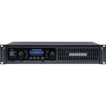 Samson SXD3000 Power Amplifier with DSP
