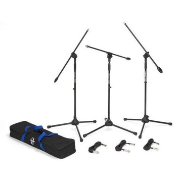 Samson BL3 VP Boom Stand & Cable (3-Pack)
