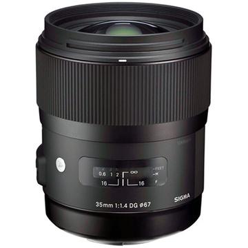 Sigma 35mm f/1.4 DG HSM Lens for Nikon DSLR Cameras