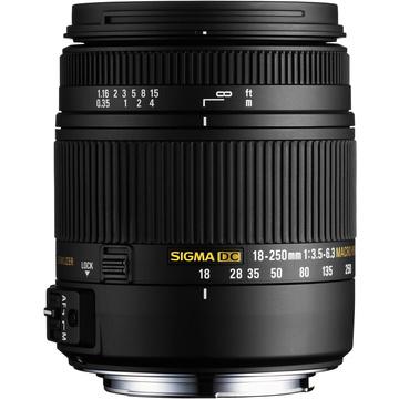 Sigma 18-250mm F3.5-6.3 DC Macro OS HSM for Nikon F Mount