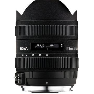 Sigma 8-16mm f/4.5-5.6 DC HSM Ultra-Wide Zoom Lens for Pentax SLRs