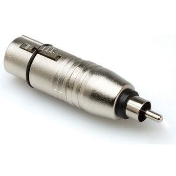 Hosa GXR-134 XLR to RCA Adapter