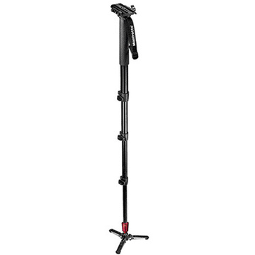 Manfrotto - 562B-1 Fluid Video Monopod with Plate