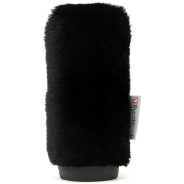 Rycote 034355 24cm Softie Short Fur - Black