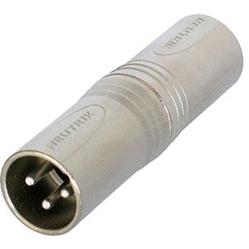 Neutrik NA3MM XLR Male to XLR Male Adapter