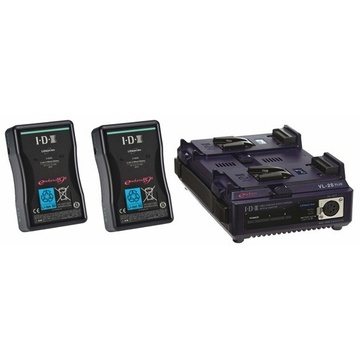 IDX 2 E-HL10DS V-Mount Batteries and Charger Kit