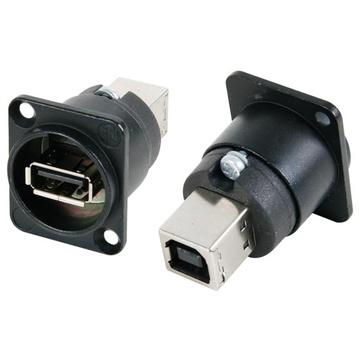 Neutrik NAUSB-B USB Female Type-A to Type-B Converter
