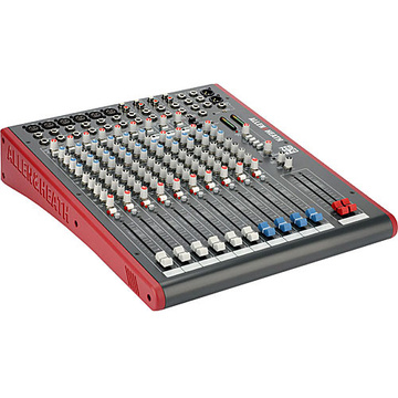 Allen & Heath ZED14 - 14-Channel Recording and Live Sound Mixer with USB