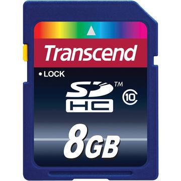 Transcend 8GB SDHC Memory Card Class 10
