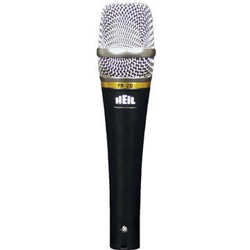 Heil Sound PR20 Dynamic Handheld Microphone (Utility)