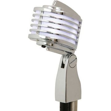 Heil Sound The Fin Dynamic Cardioid Microphone (Chrome, White LED)